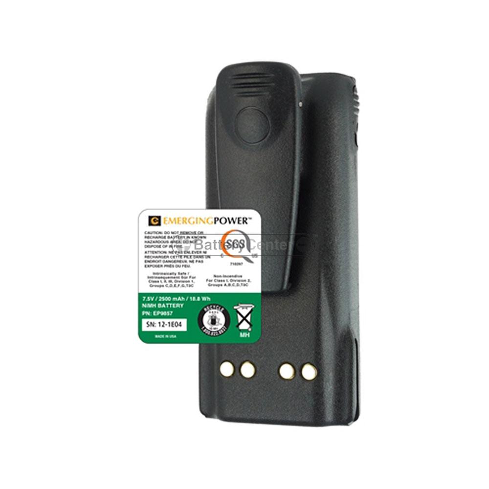 NiMH 7.5 volt 2500 mAh Two Way Radio Battery for Motorola - BC-EP9857