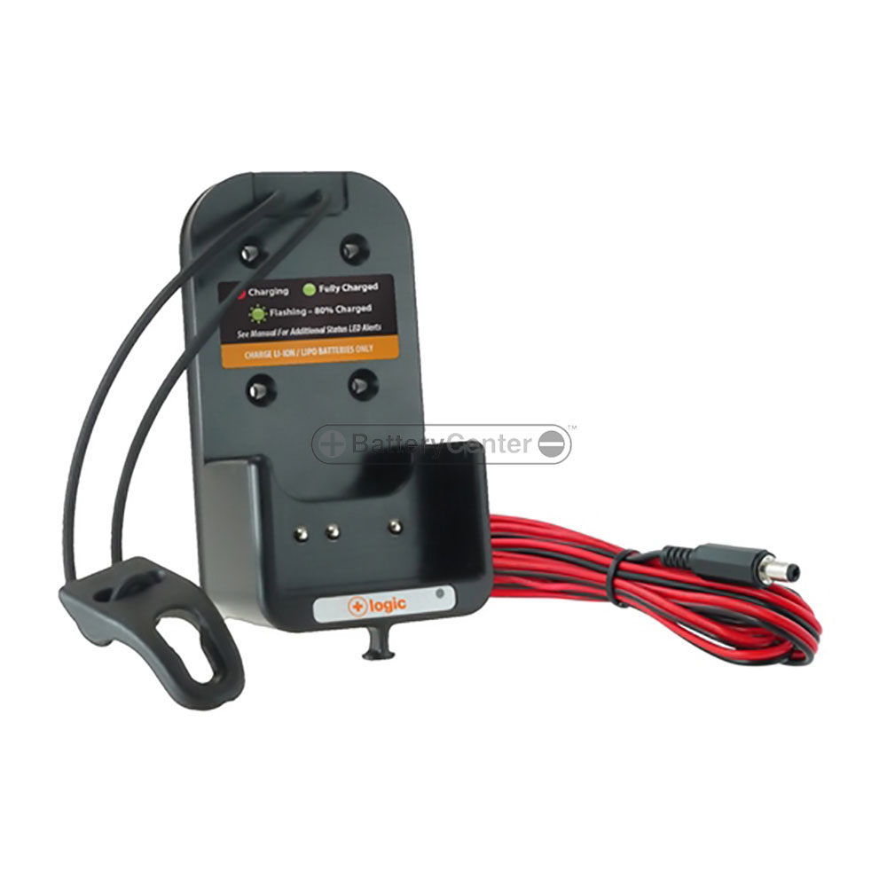 Logic Two Way Radio Battery Charger - In-vehicle Unit - BC-LEVCA-MT19