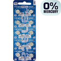 Renata 389 Silver Oxide Coin Cell Battery (10 pack)