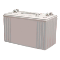 12V 97.6Ah Deep Cycle Gel Battery