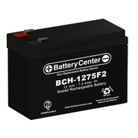 12v 7.5Ah SLA (sealed lead acid) High Rate Battery