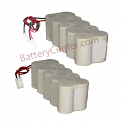 REPLACEMENT LIGHTING BATTERY 6V BCN5500-5DWP-CE0309X2 or 12V BCN5500-10EWP-CE0309