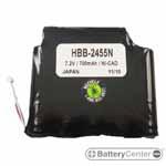 HBB-2455N barcode scanner 7.2 volt 700 mAh battery