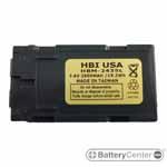 HBM-2435L barcode scanner 7.4 volt 2600 mAh battery
