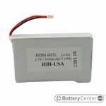 HBM-602L barcode scanner 3.7 volt 1500 mAh battery