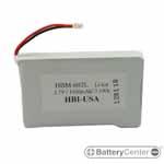 HBM-602L barcode scanner 3.7 volt 1500 mAh battery