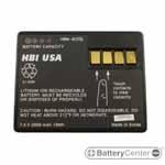 HBM-6220L barcode scanner 7.2 volt 2600 mAh battery