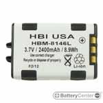 HBM-8146L barcode scanner 3.7 volt 2400 mAh battery