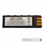 HBM-LS3478 barcode scanner 3.7 volt 2300 mAh battery