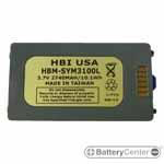 HBM-SYM3100L barcode scanner 3.7 volt 2740 mAh battery