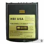 HBM-SYM55L barcode scanner 3.7 volt 3600 mAh battery