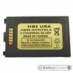 HBM-SYM70LX barcode scanner 3.7 volt 4400 mAh battery