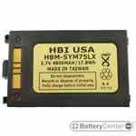 HBM-SYM75LX barcode scanner 3.7 volt 4800 mAh battery