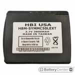 HBM-SYMMC50LEXT barcode scanner 3.7 volt 3800 mAh battery