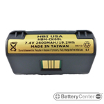HBP-PB42L barcode scanner 7.4 volt 2400 mAh battery