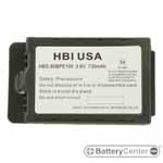 HBS-80BPE100 barcode scanner 3.6 volt 730 mAh battery