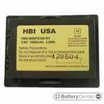 HBS-80BPX100 barcode scanner 3.6 volt 730 mAh battery