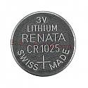 CR1025 Lithium Coin Cell Battery