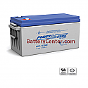 PDC-122000 12V 214AH Deep Cycle SLA Battery