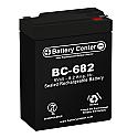 BC-682 6 Volt 8.2Ah SLA Battery