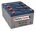 BC-2412A SLA Battery