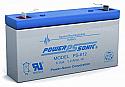 BatteryGuy Battery BG-645F1-6V 4.5AH Replacement for Universal Battery UB645ZH Battery