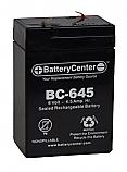 BC-645F1 SLA Battery