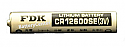 CR12600SE Lithium  Battery