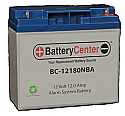BC-12180A Alarm System Battery