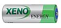 3.6 Volt 2/3 AA Lithium Button Top Battery