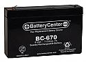 BC-670 SLA Battery