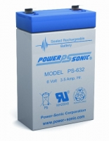 PS-632 SLA Battery