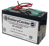 BC-670(2P) SLA Battery