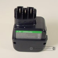 METABO 7.2V 1500mAh NICAD replacment power tool battery