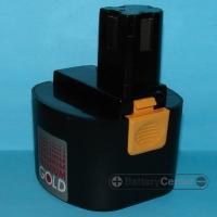 PANASONIC 9.6V 2500mAh NIMH replacment power tool battery