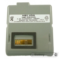 HBP-RW420L barcode printer 7.4 volt 5200 mAh battery