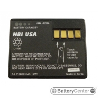 HBM-6220L barcode scanner 7.2 volt 2600 mAh battery