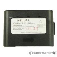 HBM-MX1 barcode scanner 6.0 volt 1650 mAh battery