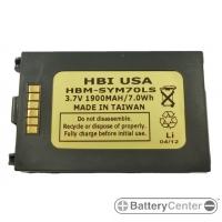 HBM-SYM70LS barcode scanner 3.7 volt 1900 mAh battery