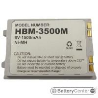 HBM-3500M barcode scanner 6 volt 1500 mAh battery