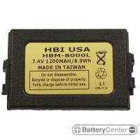 HBM-8000L barcode scanner 7.4 volt 1200 mAh battery