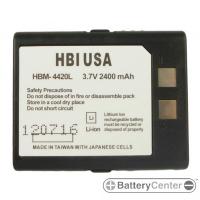HBM-4420L barcode scanner 3.7 volt 2400 mAh battery