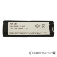 HBM-860N barcode scanner 4.8 volt 1400 mAh battery