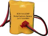 2.4v 1000mah Nickel Cadmium Battery BCN1100-2DWP