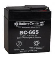 BC-665 SLA Battery