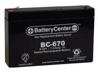 BC-670F1 SLA Battery