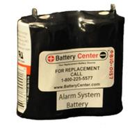 4v 2.5ah Alarm System Battery 0810-0137A