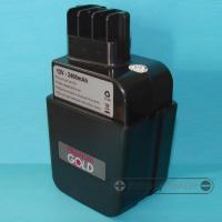 METABO 12V 2400mAh NIMH replacment power tool battery