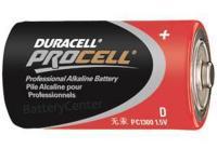 PC1300 D Size Industrial Alkaline Battery