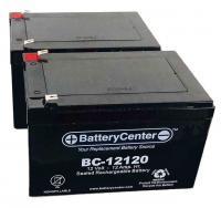 2 X BC-12120F2 SLA Battery